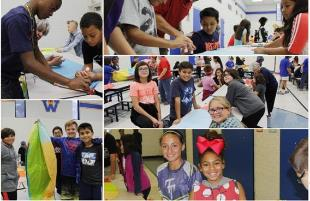 Williams ES Students Learn About Science with Hot Air Balloons
