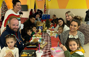 Christmas Lunch with Families