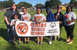 Atkins Special Olympics Team Rocks