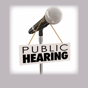 Called Public Hearing