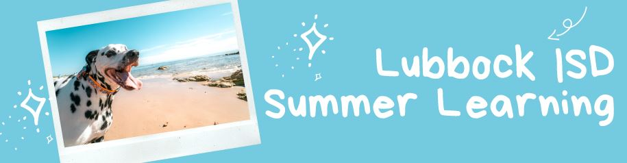Summer Learning Programs Header