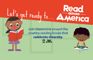 Celebrate a nation of diverse readers that represent an array of experiences and cultures...