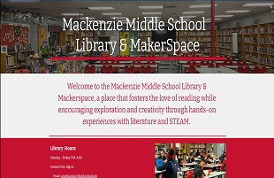 Mackenzie Library & Virtual Library Website