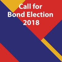 Call for Bond Election 2018