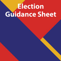 Election Guidance Sheet - Lubbock ISD Employees