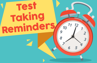 Test-Taking Reminders