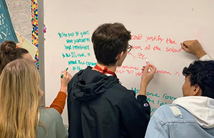 AP Seminar Students Explore Real-World Problems