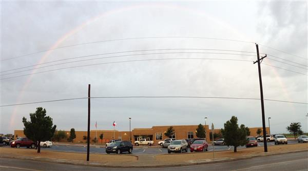 School Rainbow Pic