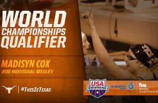 Madison Cox finishes 2nd in 200 IM on her way to World Championships