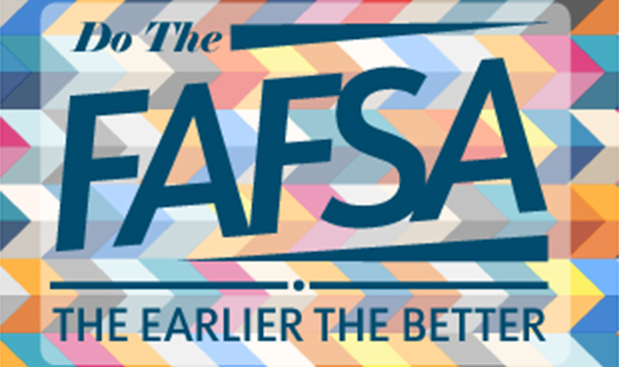 FAFSA Application is Now Open