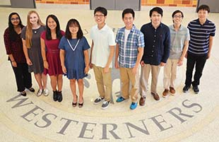 LHS Nine National Merit Semifinalists