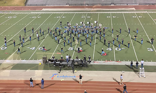 Lubbock High band