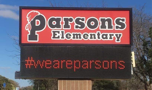 Parsons Elementary Marquis